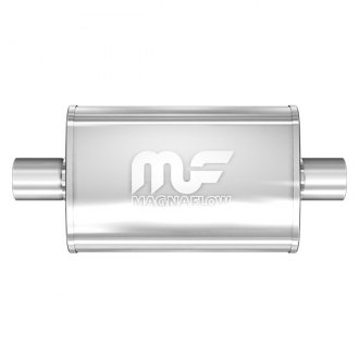 MagnaFlow® - Stainless Steel Oval Bi-Direction Exhaust Muffler