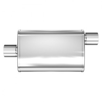 MagnaFlow® - XL Series Satin Stainless Steel Oval Muffler
