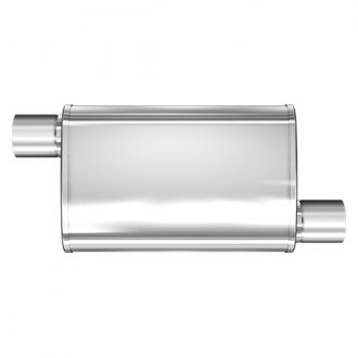 MagnaFlow® - XL Series Stainless Steel Oval Satin Exhaust Muffler