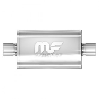 MagnaFlow® - Race Series Stainless Steel Polished Exhaust Muffler