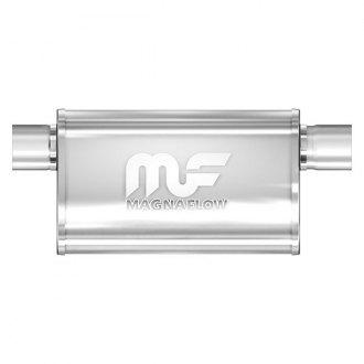 """MagnaFlow 14578 3/"""" Offset ID 3/"""" Offset OD 5/"""" X 11/"""" Oval SS Performance Muffler"""