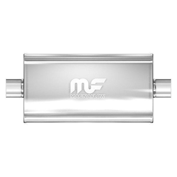 Magnaflow 12578 Satin Stainless Steel 3 Offset Oval Muffler