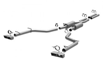MagnaFlow® 15133 - Competition Series Stainless Steel Cat-Back Exhaust System (Quad Split Rear Exit)