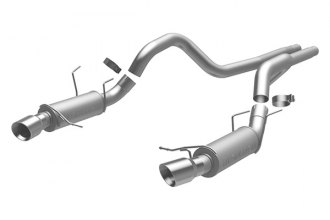 MagnaFlow® 15150 - Competition Series Stainless Steel Cat-Back Exhaust System (Dual Split Rear Exit)
