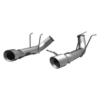 MagnaFlow® - Race Series™ Stainless Steel Dual Exhaust System with Double Wall Round Tip