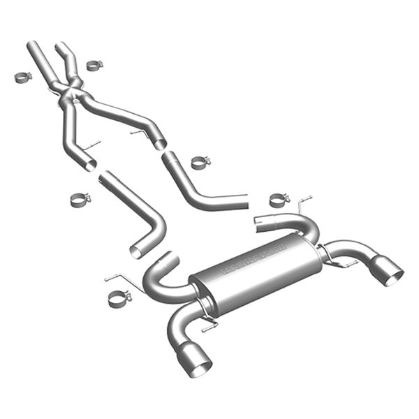 MagnaFlow® - Touring Series™ Stainless Steel Dual Cat-Back Exhaust System