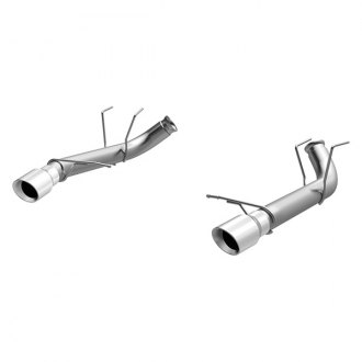 MagnaFlow® - Race Series™ Stainless Steel Dual Axle-Back Exhaust System with Dual Split Rear Exit