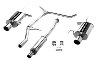MagnaFlow® 15640 - Street Series Stainless Steel Cat-Back Exhaust System (Dual Split Rear Exit)