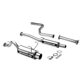 MagnaFlow® - Street Series™ Stainless Steel Single Cat-Back Exhaust System with Single Straight Passenger Side Rear Exit