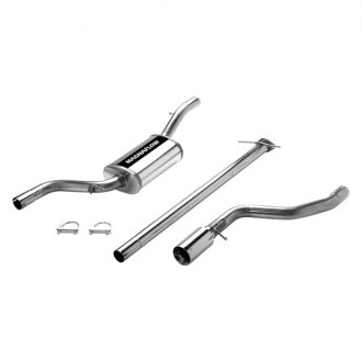 MagnaFlow® - Street Series™ Stainless Steel Single Cat-Back Exhaust System with Single Straight Driver Side Rear Exit