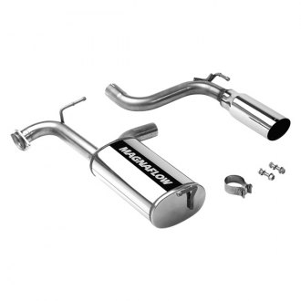 MagnaFlow® - Street Series™ Stainless Steel Single Axle-Back Exhaust System with Single Straight Passenger Side Rear Exit