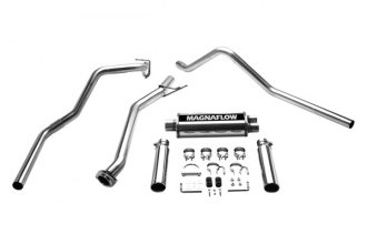 MagnaFlow® 15792 - Street Series Stainless Steel Cat-Back Exhaust System (Dual Split Rear Exit)