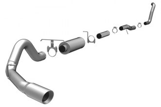 MagnaFlow® - MagnaFlow Series Turbo-Back Exhaust System