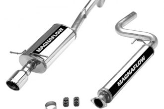 MagnaFlow® 16619 - Street Series Stainless Steel Cat-Back Exhaust System (Single Straight Driver Side Rear Exit)