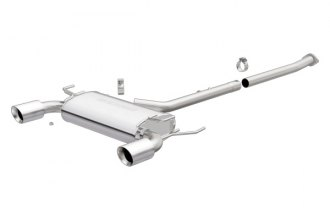 MagnaFlow® 16641 - Street Series Stainless Steel Cat-Back Exhaust System (Dual Split Rear Exit)