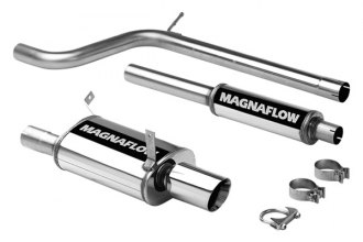 MagnaFlow® 16667 - Street Series Stainless Steel Cat-Back Exhaust System (Single Rear Exit)