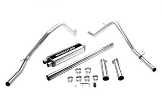 MagnaFlow® 16700 - Street Series Stainless Steel Cat-Back Exhaust System (Dual Split Rear Exit)