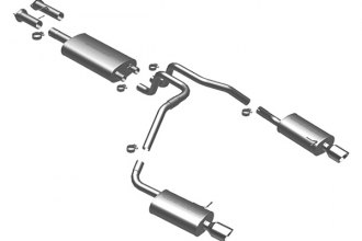 MagnaFlow® - Street Series Stainless Steel Cat-Back Exhaust System