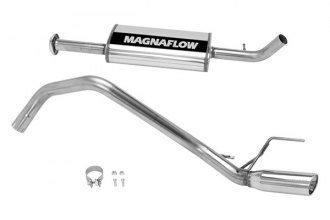 MagnaFlow® 16834 - Street Series Stainless Steel Cat-Back Exhaust System (Single Straight Passenger Side Rear Exit)
