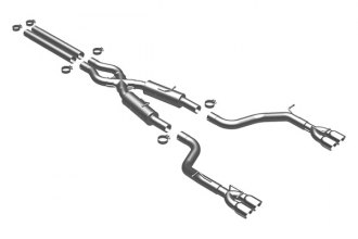 MagnaFlow® 16885 - Competition Series Stainless Steel Cat-Back Exhaust System (Quad Split Rear Exit)