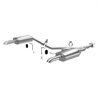 MagnaFlow® - Street Series™ Stainless Steel Dual Cat-Back Exhaust System with Dual Split Rear Exit