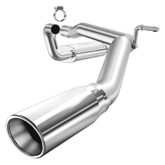 MagnaFlow® - MagnaFlow Series™ Stainless Steel Single Cat-Back Exhaust System with Single Straight Passenger Side Rear Exit