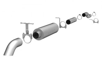 MagnaFlow® - Off-Road Pro Series Stainless Steel Cat-Back Exhaust System