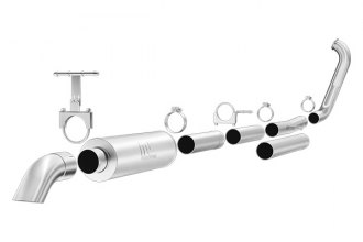 MagnaFlow® - Off-Road Pro Series Stainless Steel Turbo-Back Exhaust System