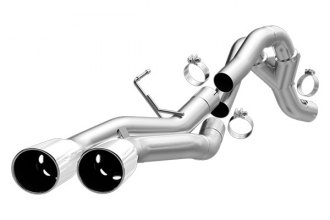 MagnaFlow® 17952 - Pro Series Stainless Steel DPF-Back Exhaust System (Dual Same Side Behind Passenger Rear Tire Exit)