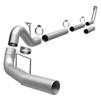 MagnaFlow® - Custom Builder™ Aluminized Steel Single Turbo-Back Exhaust System with Single Passenger Side Rear Exit