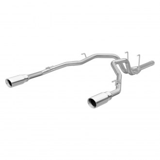MagnaFlow® - MagnaFlow Series™ Stainless Steel Exhaust System with Split Rear Exit