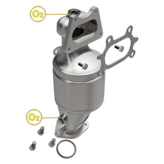 MagnaFlow® - Heavy Metal Federal Catalytic Converter with Header (Shipping Restrictions)