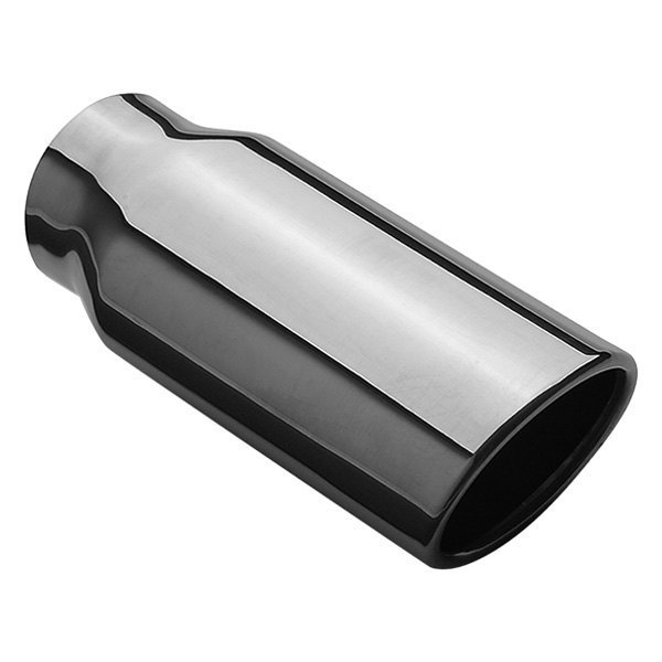 MagnaFlow® - Sport Compact Stainless Steel Oval Rolled Edge Weld-On Polished Exhaust Tip