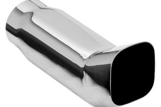 MagnaFlow® - Stainless Steel DTM Style Square Single-Wall Polished Exhaust Tip