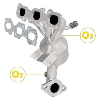 MagnaFlow® - Exhaust Manifold with Integrated Catalytic Converter