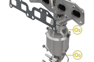 MagnaFlow® - Direct Fit California Catalytic Converter with Header