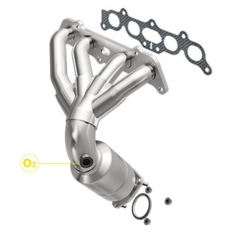 MagnaFlow® - Direct Fit Federal OEM Grade Catalytic Converter with Header