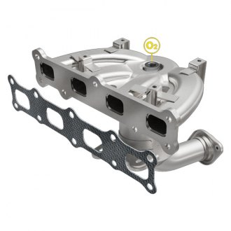 MagnaFlow® - OEM Grade Stainless Steel Exhaust Manifold with Integrated Catalytic Converter