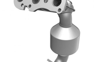 MagnaFlow® - Direct Fit California OBDII Catalytic Converter with Header