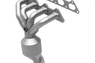 MagnaFlow® - Direct Fit California OBDII Front Catalytic Converter with Header