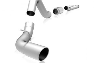 MagnaFlow® 15196 - MagnaFlow Series Stainless Steel Cat-Back Exhaust System (Dual Split Rear Exit)