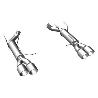 MagnaFlow® - Competition Series™ Stainless Steel Axle-Back Exhaust System with Quad Rear Exit