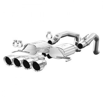 MagnaFlow® - Street Series™ Stainless Steel Axle-Back Exhaust System with Quad Rear Exit