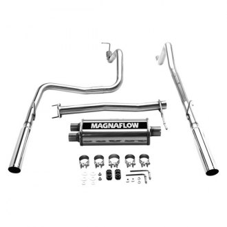 MagnaFlow® - MagnaFlow Series™ Stainless Steel Cat-Back Exhaust System with Split Rear Exit