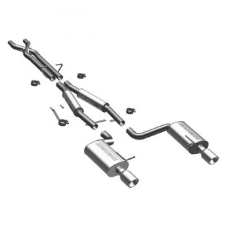MagnaFlow® - Touring Series™ Stainless Steel Cat-Back Exhaust System with Split Rear Exit