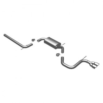 MagnaFlow® - Touring Series™ Stainless Steel Cat-Back Exhaust System with Dual Rear Exit
