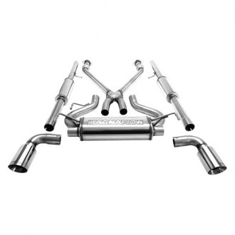 MagnaFlow® - Street Series™ Stainless Steel Cat-Back Exhaust System with Split Rear Exit