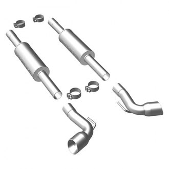 MagnaFlow® - Street Series™ Stainless Steel Cat-Back Exhaust System with Split Side Exit