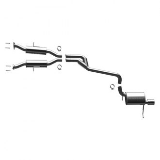 MagnaFlow® - MagnaFlow Series™ Stainless Steel Cat-Back Exhaust System with Single Rear Exit