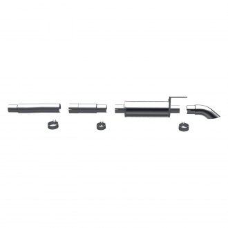 MagnaFlow® - Off-Road Pro Series™ Stainless Steel Cat-Back Exhaust System with Single Rear Exit